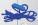 A LACES for pen BLUE