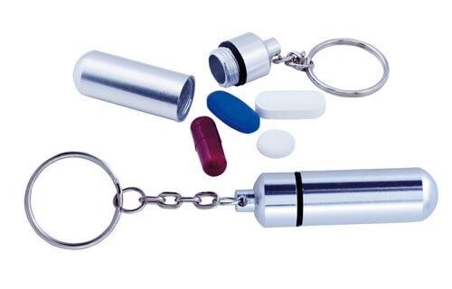Alumpil box na lieky,kľúčenka