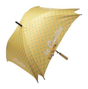 CreaRain Square RPET dáždnik na zákazku