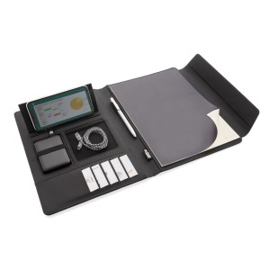 Portfólio A4 s bezdrôtovým nabíjaním a PowerBank Fiko