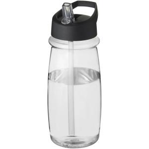 Športová fľaša s viečkom s hubicou H2O Pulse 600 ml