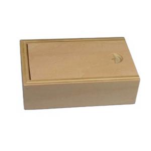 Drevená krabička s výsuvným vekom
