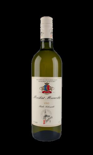 Muškát moravský biele víno polosuché 0,75 l, Premium