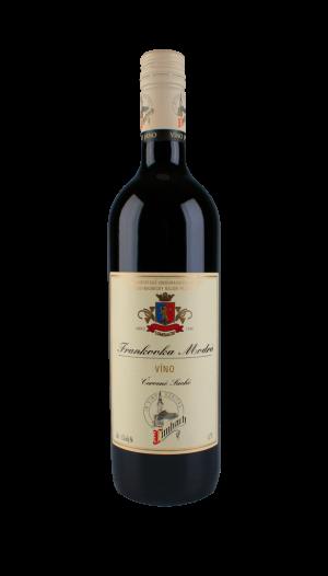 Frankovka modrá- červené víno suché 0,75l, Premium
