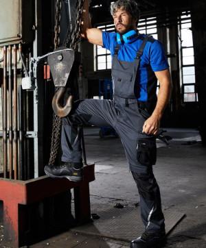 Pracovné nohavice s trakmi Strong