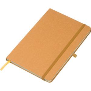 Zápisník A5 z recyklovaného kartónu