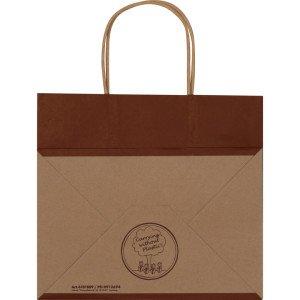 Recyklovaná papierová taška malá