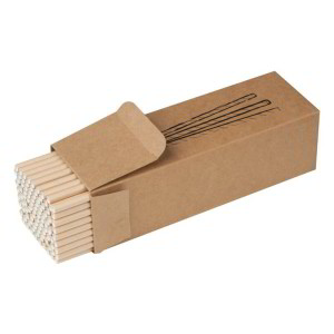 Papierové slamky v krabičke,100ks