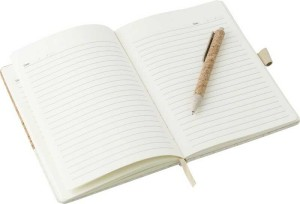 Korkovo - ľanový zošit a guľôčkové pero