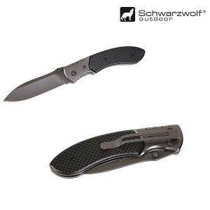 Zatvárací nôž s poistkou SCHWARZWOLF YERGER
