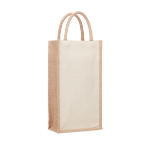 Darčeková taška z juty  CAMPO DI VINO DUO