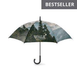 Dáždnik Windproof, plnofarebne potlačiteľný