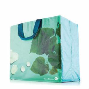 Nákupná taška Horizontal, plnofarebne potlačiteľná