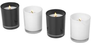 obrazok 4-dílná sada svíček  HIlls - Reklamnepredmety