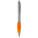 Reklamnepredmety Guľôčkové pero Nash s farebným úchopom