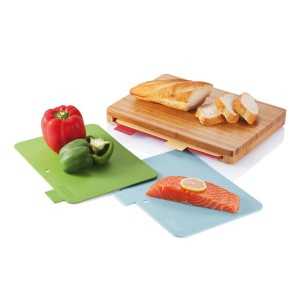obrazok Cutting board kuchynská doska so 4ks hygienických podložiek - Reklamnepredmety