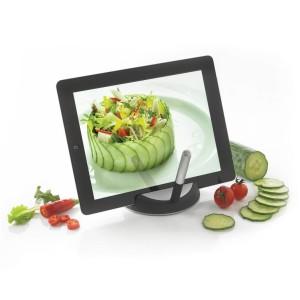 obrazok Chef tablet stand with touchpen  stojan na tablet sdotykovým perom - Reklamnepredmety