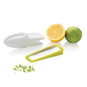 obrazok 2-in-1 citrus zester and grater škrabka na kôru a strúhadlo na citrusy 2v1 - Reklamnepredmety