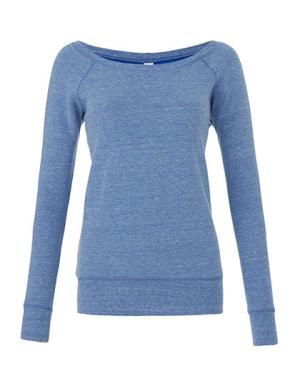 BL7501 Women`s Sponge Fleece Wide Neck Sweatshirt
