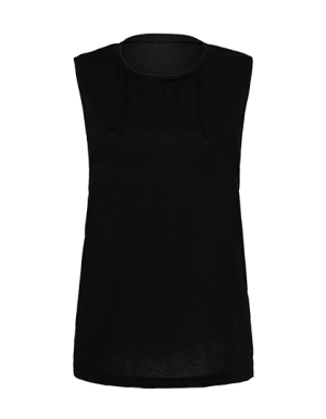 BL8803 Women`s Flowy Scoop Muscle T-Shirt