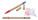 Reklamnepredmety Lippo guličkové pero recyklované