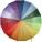 Reklamnepredmety Veľký farebný daždnik /DUHA/