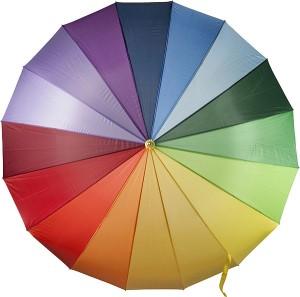obrazok Veľký farebný daždnik /DUHA/ - Reklamnepredmety