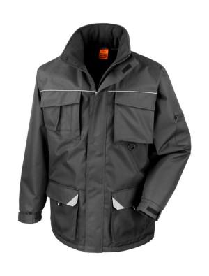 obrazok Dlhý kabát Work-Guard Sabre - Reklamnepredmety