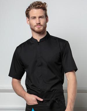 Barmanská košeľa Bargear Mandarin Collar