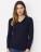 Reklamnepredmety Tenký Unisex pulover s V-výstrihom