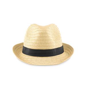 """obrazok """"BOOGIE"""" slamený klobúk - Reklamnepredmety"""