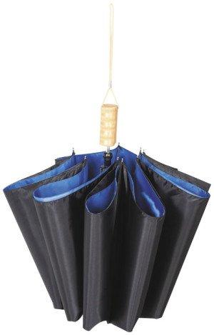 """Dvojdielny automatický dáždnik Blue 21 """""""