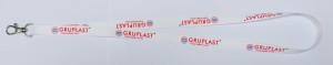obrazok Šnúrka na krk 15mm - jednostranná potlač s kovovým klipom - Reklamnepredmety