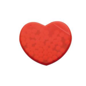 Cukríky v krabičke v tvare srdca CORAMINT