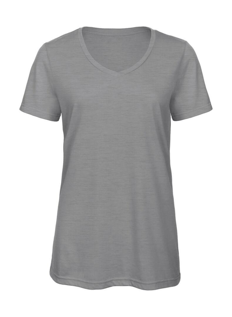 8eafec25eae3 ... obrazok Dámske tričko s V-výstrihom Triblend - TW058 - Reklamnepredmety