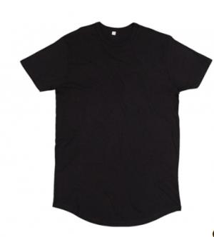 Pánske predĺžené tričko, Organické