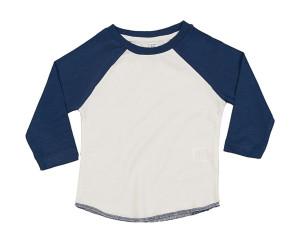 obrazok Detské tričko s dlhým rukávom Superstar Baseball T - Reklamnepredmety