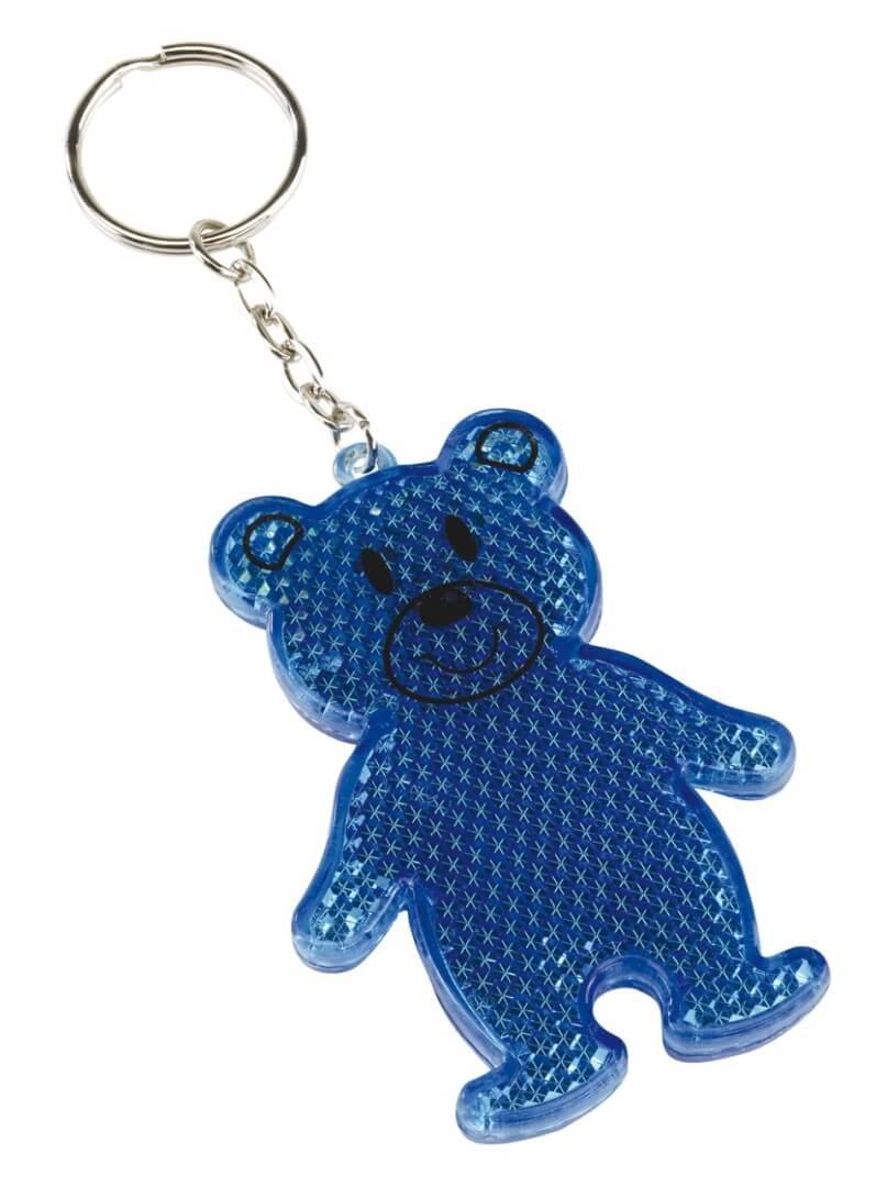 Teddy reflexný kľúčenka