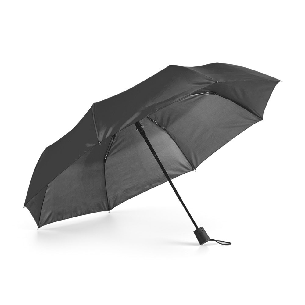 Compact umbrella. 190T polyester.