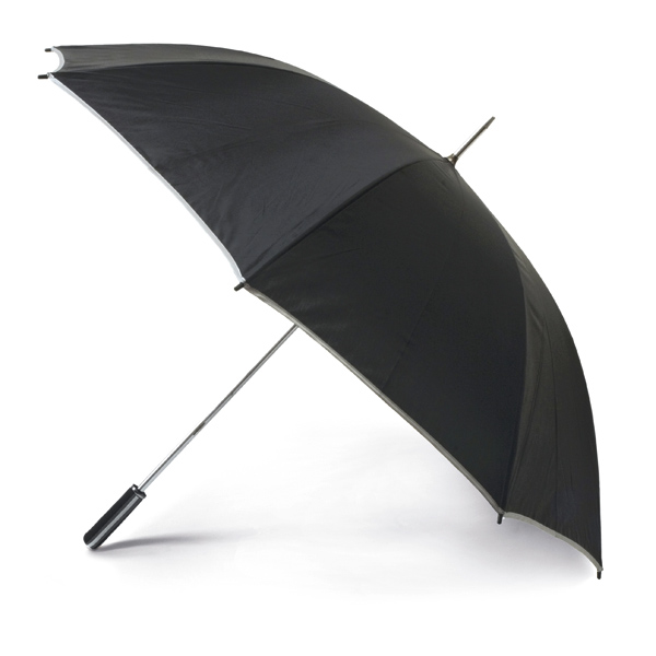 Golf umbrella. 190T polyester. EVA