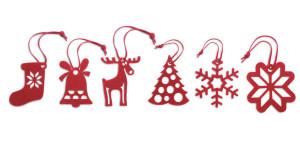 ROUGE vianočné ozdzoby