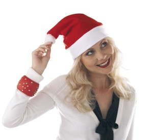 "obrazok Santa Claus čiapka ""Happy Hat"" - Reklamnepredmety"