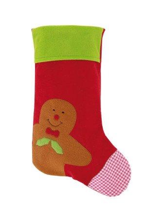 """Felt vianočná ponožka """"Ginger Man"""""""