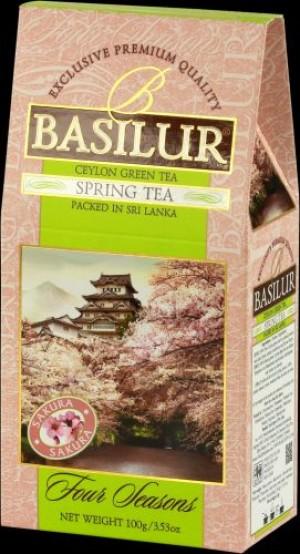 obrazok Zelený čaj Spring Tea, 100g - Reklamnepredmety
