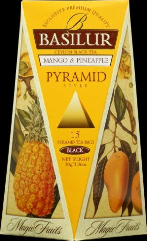 obrazok Čierny čaj Mango & Pineapple, 15x2g - Reklamnepredmety