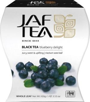 obrazok JAF TEA BLUEBERRY čierny čaj aromatizovaný, sypaný 100g - Reklamnepredmety