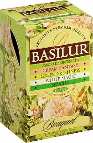 obrazok Zelený čaj Bouquet Sencha, sáčky 20x1,5g - Reklamnepredmety