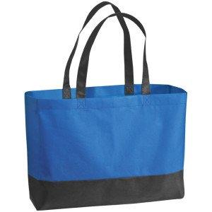 obrazok Netkaná nákupná taška dvojfarebná - Reklamnepredmety