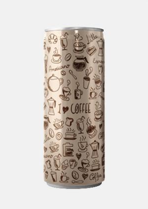 Ľadová káva v plechovke