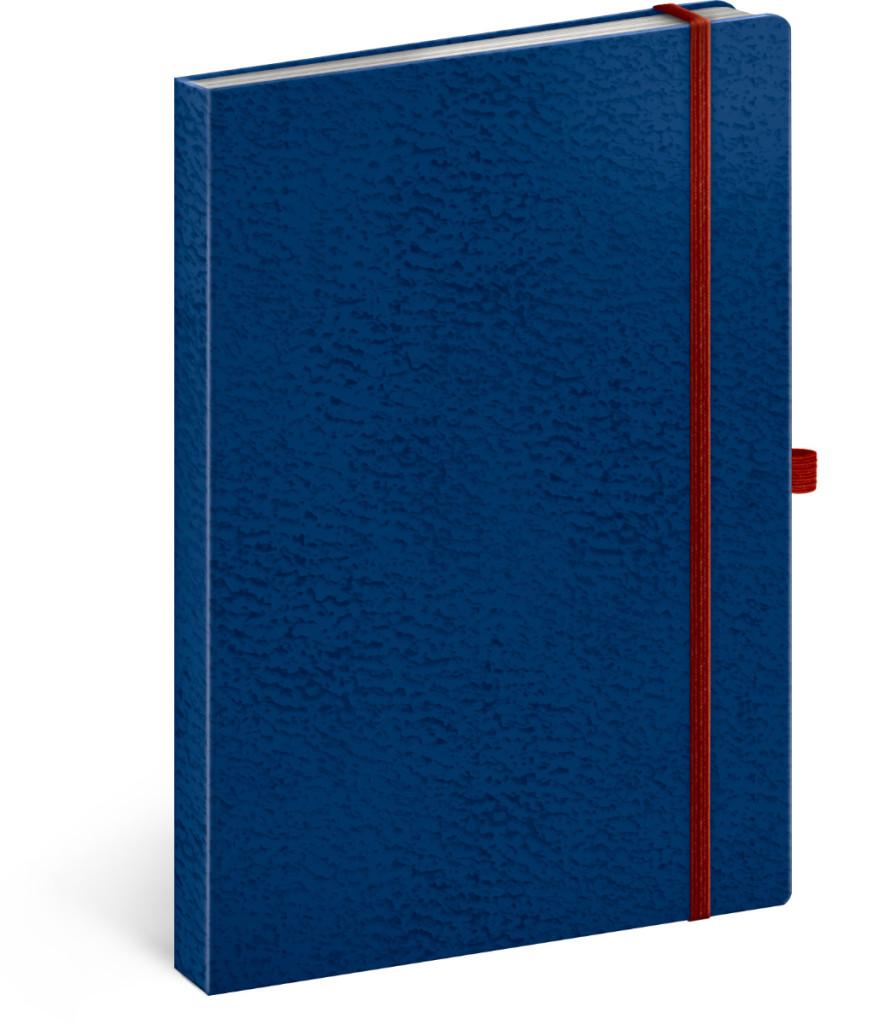 Notes Vivella Classic  linajkovaný, 15 x 21 cm